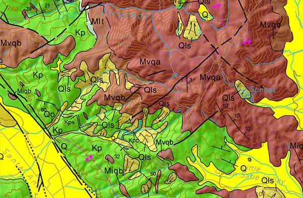 Bản đồ địa chất