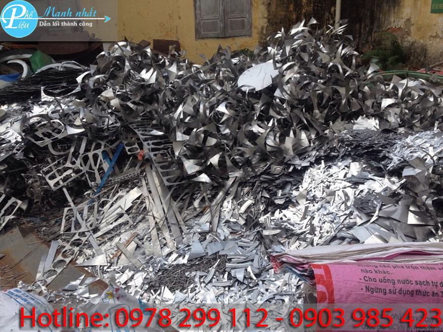 Các loại phế liệu inox được thu mua hiện nay