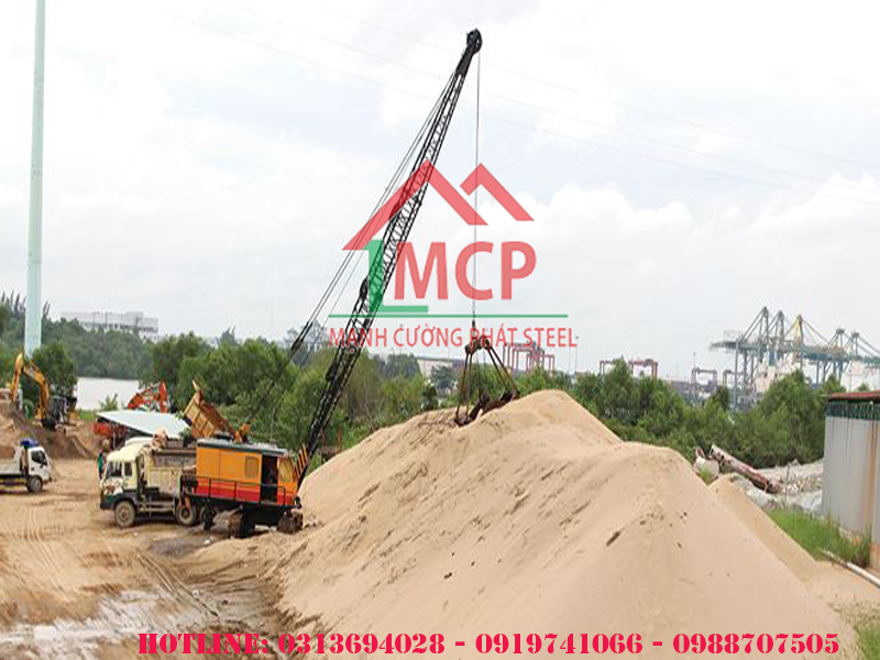 The latest price quotation for construction sand is April 27 2020